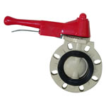 PPH Butter Fly Valve